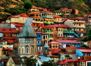 City of contrasts - Tbilisi