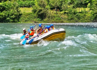 Rafting in the Mountainous Adjara!