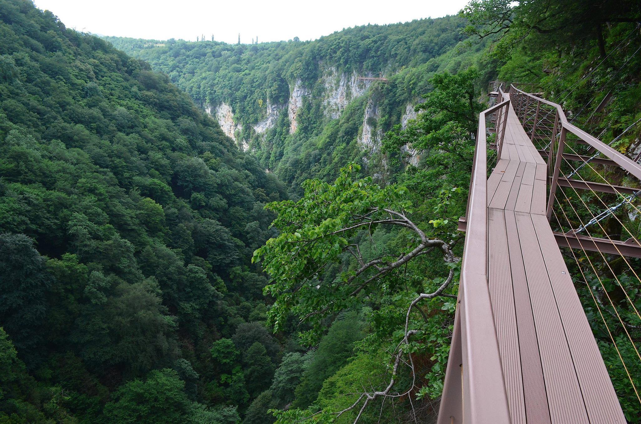 Georgia. Prometheus Cave and Okatse Canyon 97